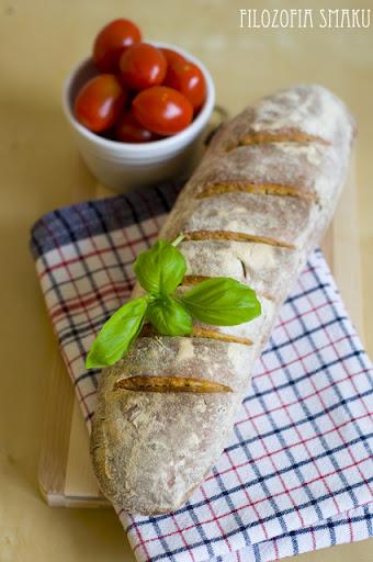 Chleb z bazylią przepis