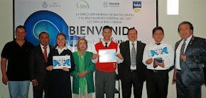 Gran final del concurso de declamación de la Dirección General de Bachillerato