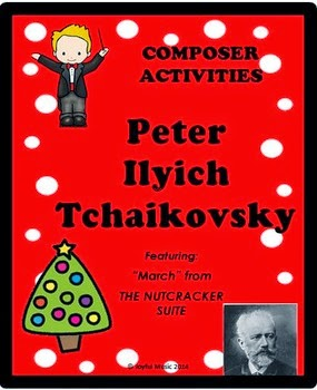 http://www.teacherspayteachers.com/Product/COMPOSER-ACTIVITIES-Peter-Ilyich-Tchaikovsky-1526275
