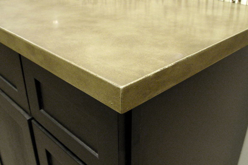 Countertop Eased Edge Profile : This is called an