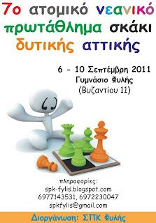 7ο Ατομικό Νεανικό Πρωτάθλημα Δυτικής Αττικής