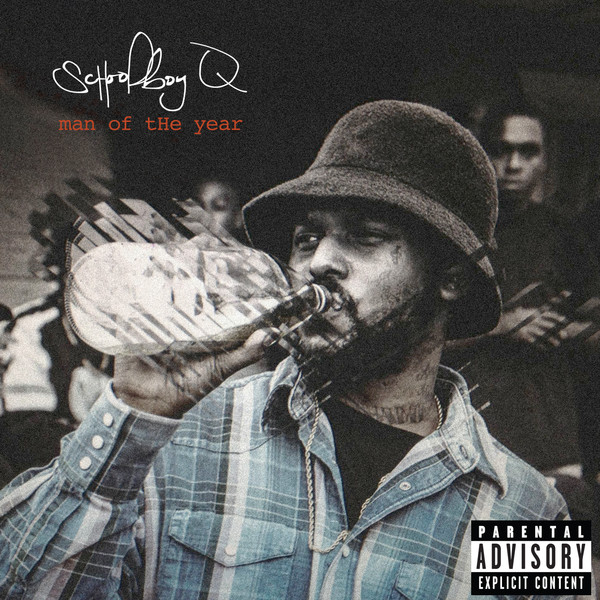Schoolboy Q - Man of the Year - Single  Cover