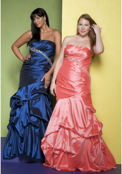 Plus Size Mermaid Prom Dress