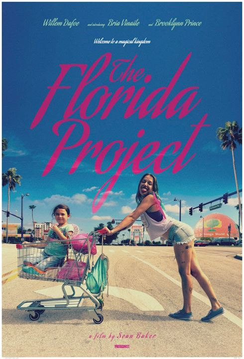 Poster de The Florida Project