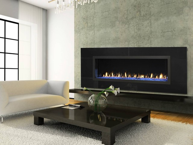 acucraft fireplaces open gas fireplace no glass