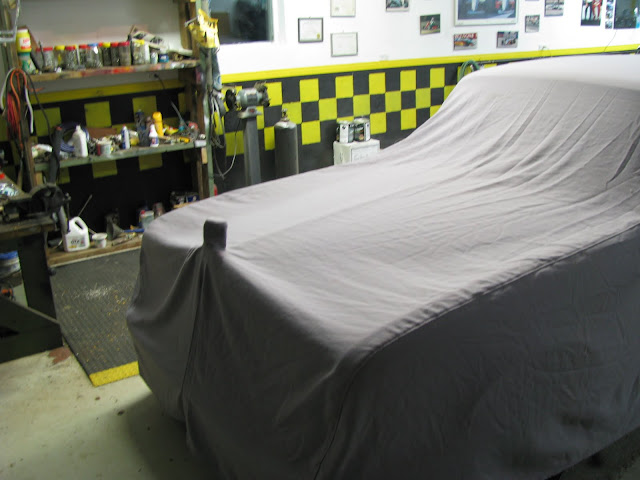 Rolls-Royce under cover car cover