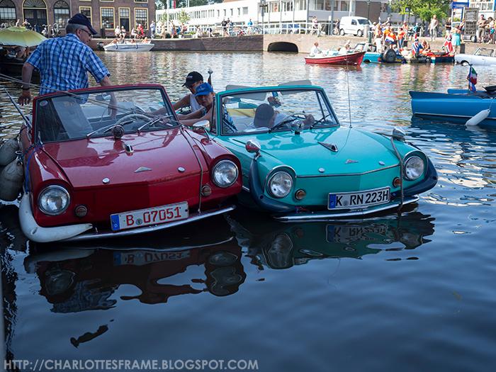 Amfibievoertuigenshow Alkmaar 2015