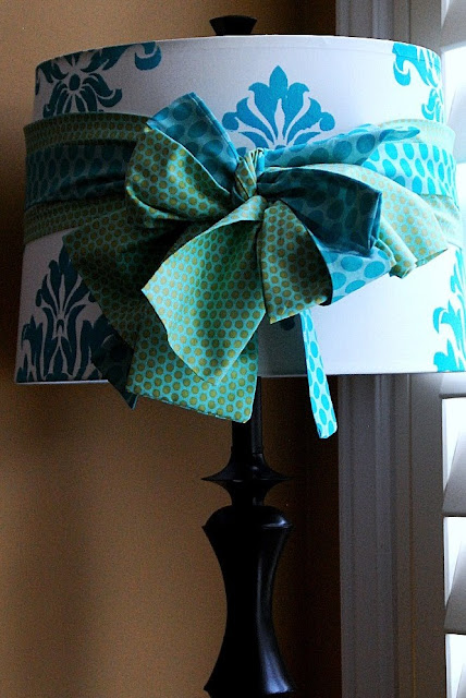 Damask Lamp DIY