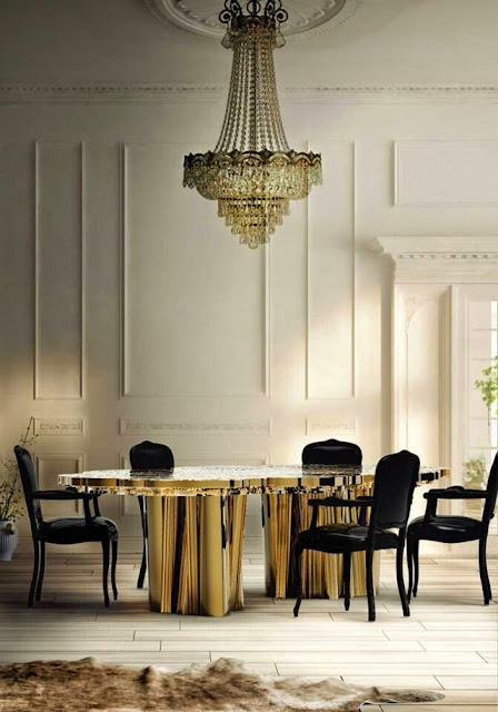 traditionally decorated white paneled dining room crystal chandelier