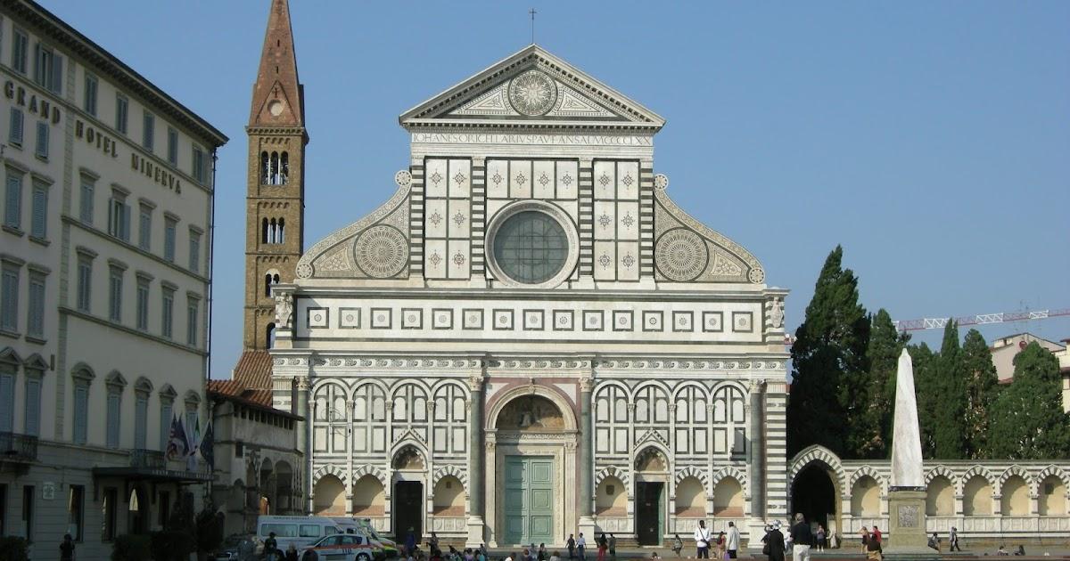 Leon Battista Alberti: Basilica of Santa Maria Novella