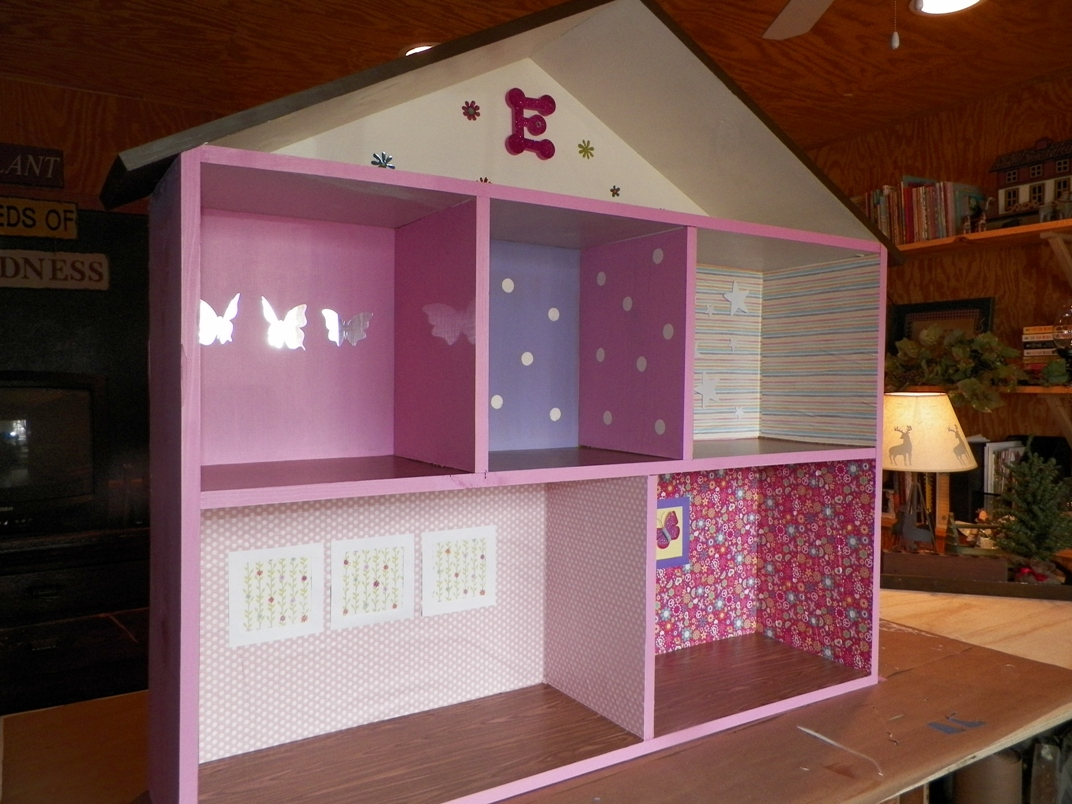 Everything in between by kelly tiffany making barbie houses - Casa de barbie ...