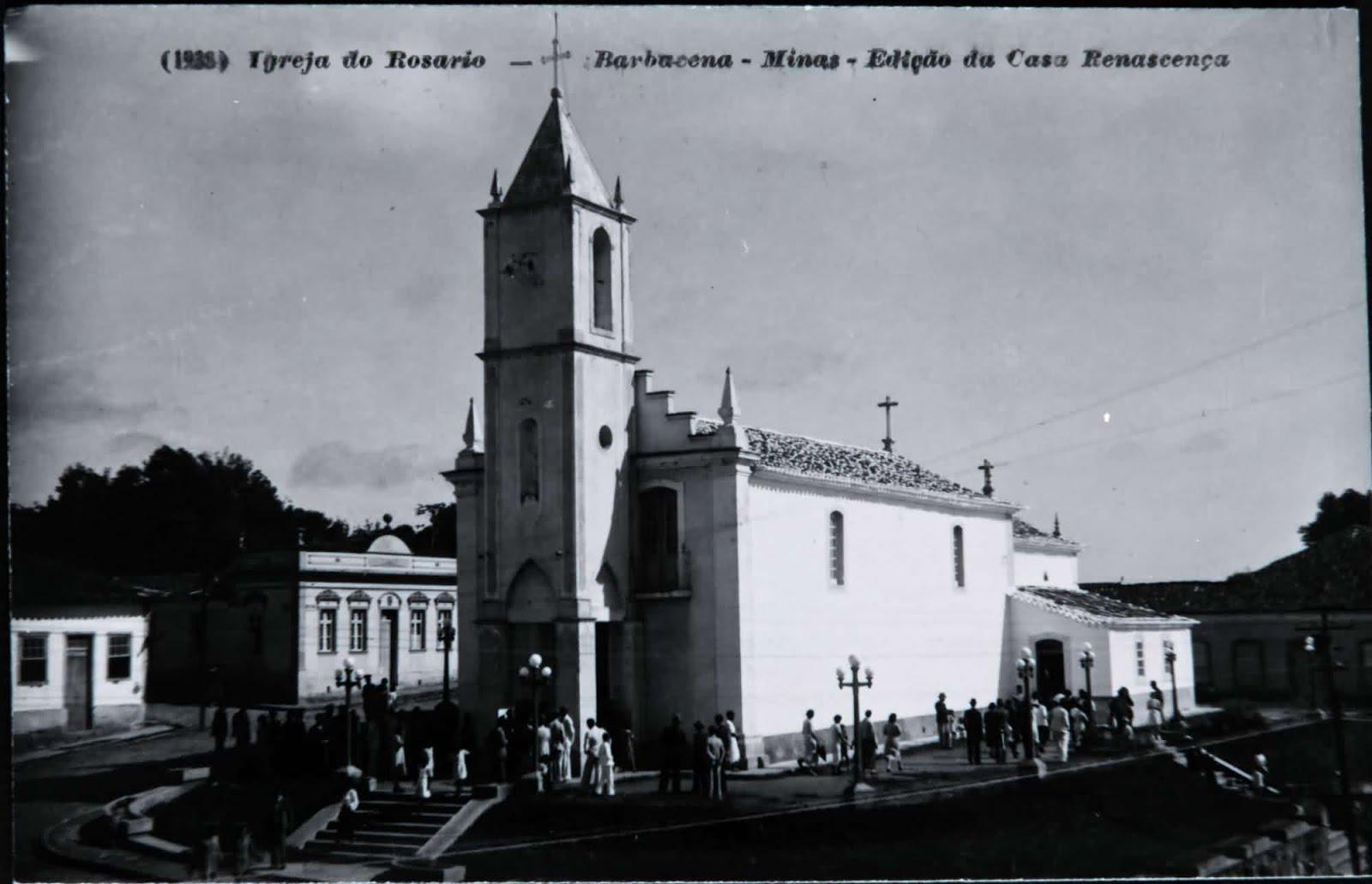 Igreja de N.S. do Rosário de Barbacena MG
