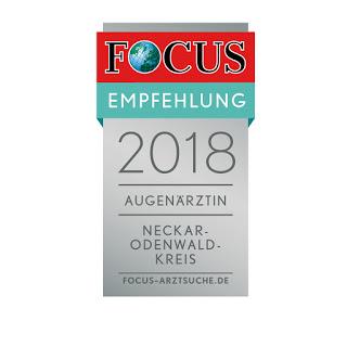 """""""Empfohlener  Arzt in der Region 2018"""""""