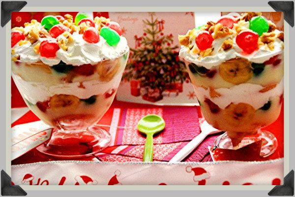 Mi jard n de retales postres navide os - Ideas para postres de navidad ...