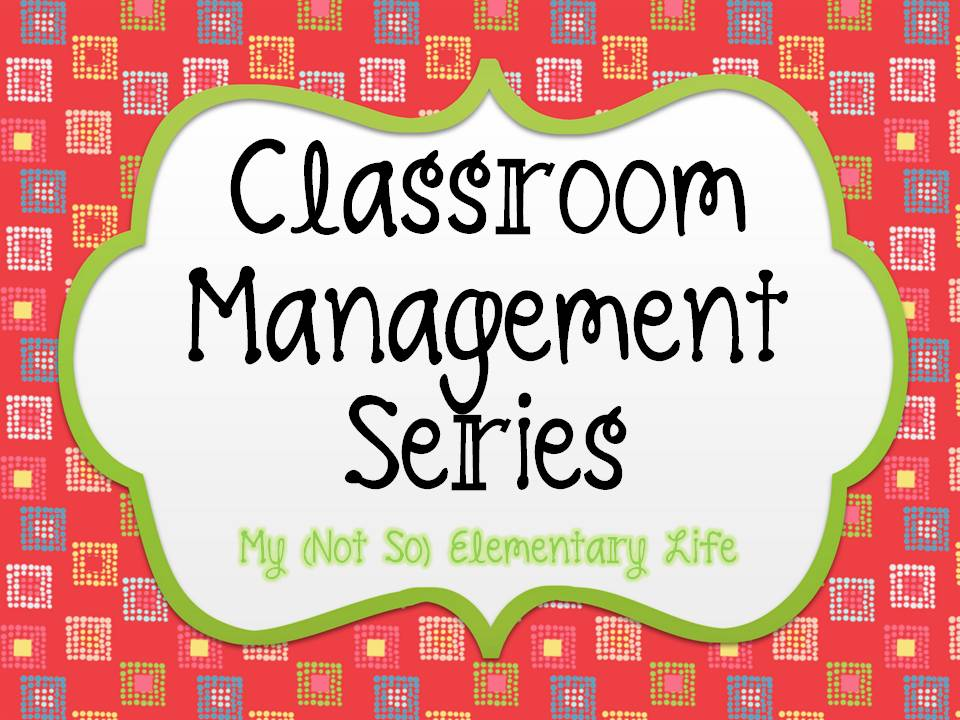 Elementary Classroom Management ~ Whats for lunch sign classroom just b use