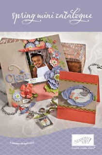 Stampin' Up! UK Spring 2012 Mini Catalogue