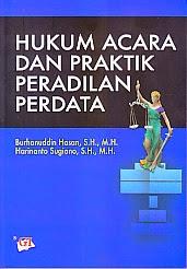 toko buku rahma: buku HUKUM ACARA DAN PRAKTIK PERADILAN PERDATA, pengarang burhanuddin hasan, penerbit ghalia indonesia