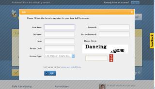 Cara mendaftar ke Adfly