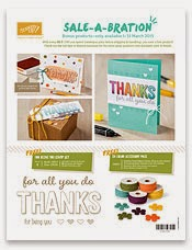 4 Bonus Sale-a-Bration Products