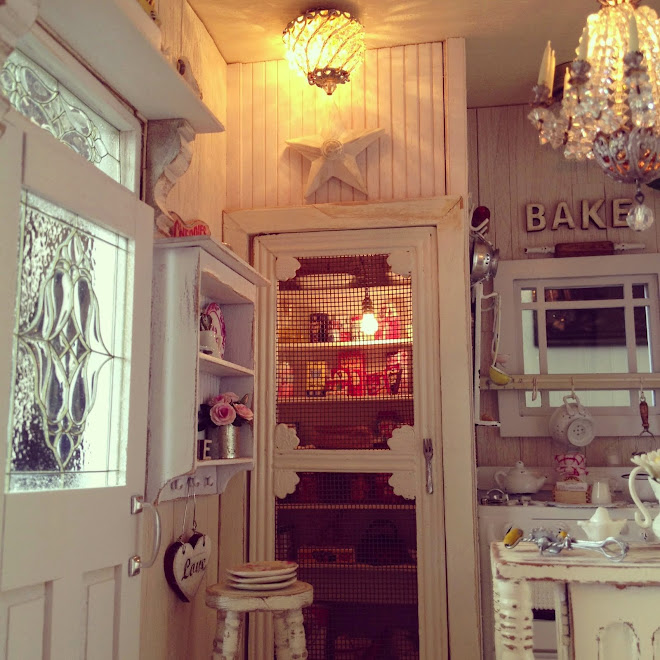 Shabby chic kitchen