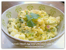 Avocado Cilantro Egg Salad with Lemon-Lime Mayo