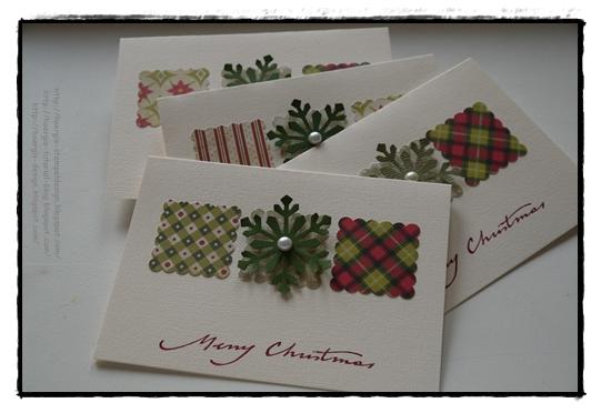 Hoergis stempeldesign november 2011 for Weihnachtskarten kreativ