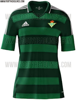 jual online jersey harga murah Jersey Real Betis away terbaru musim depan 2015/2016