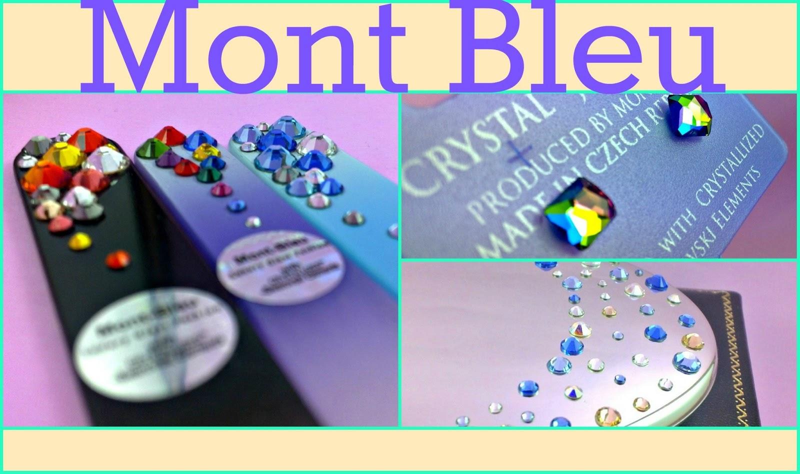 Solamente Mujeres: Mont Bleu... Limas de cristal y más!
