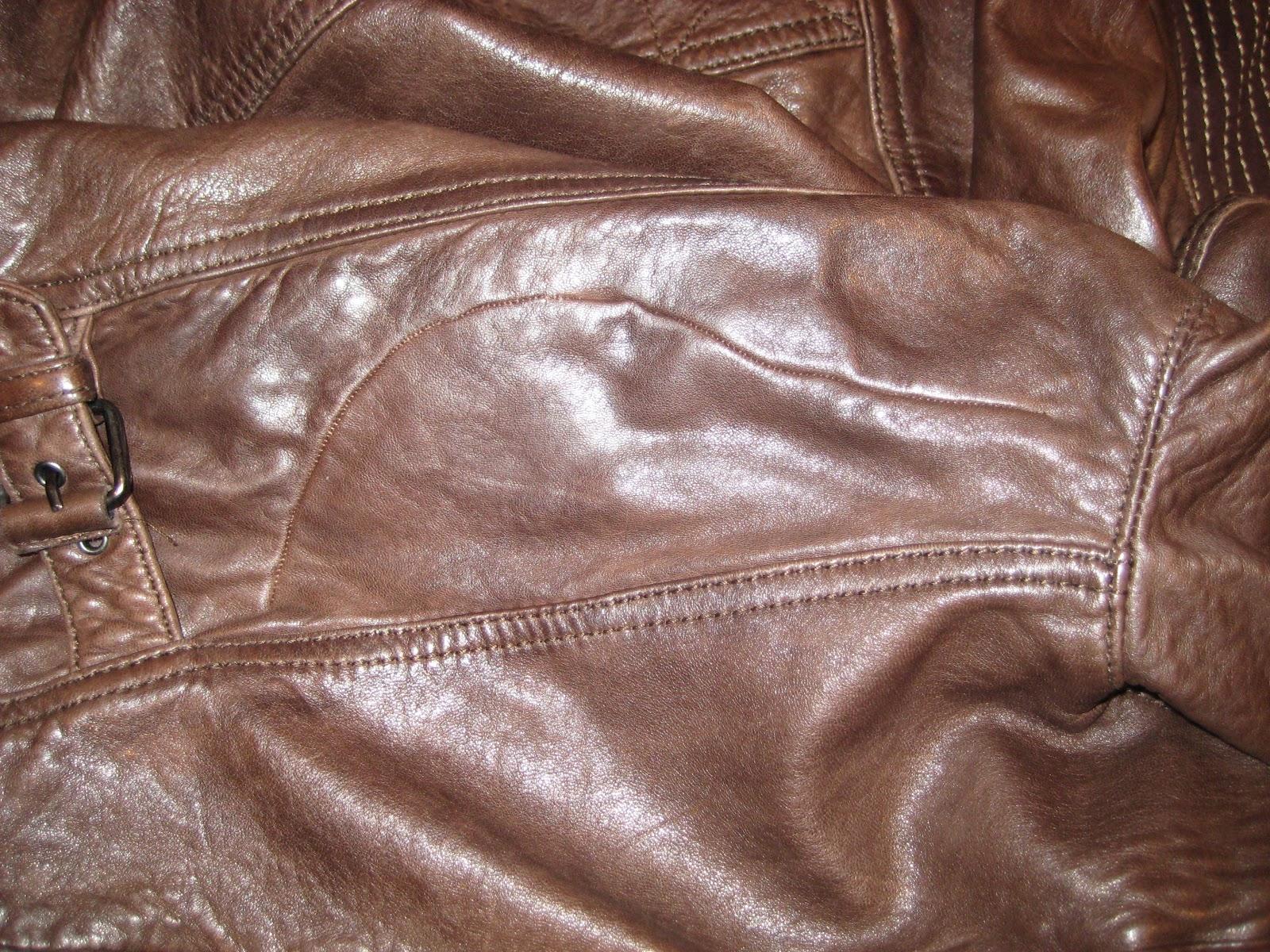 Como se arregla una chaqueta de cuero