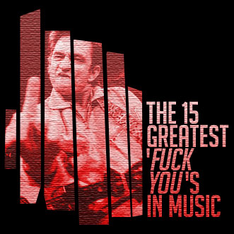 The 15 Greatest 'Fuck You's In Music: Johnny Cash doesn't give a fuck