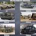 Militära fordon för journalister