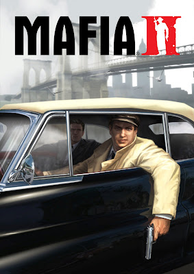 Mafia II boys in a car