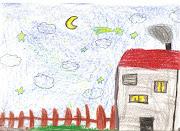 El dibujo de la casa es un elemento recurrente y de alta presencia en los .