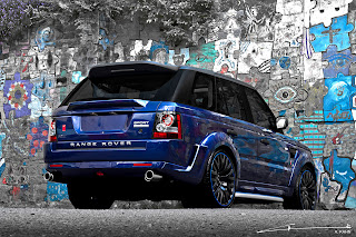 Range Rover - Blue Project-Kahn