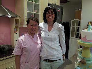 curso de tarta de los ositos traviesos: con Sharon Wee