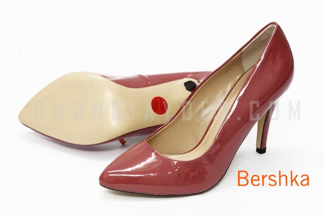 Giày công sở Bershka XKBK-002-DO | Ban si giay dep Ha Noi