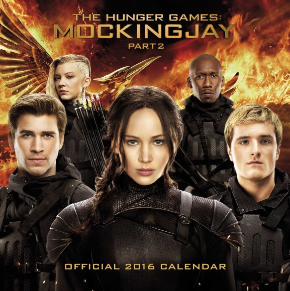 mockingjay part 2 calendar merchandise