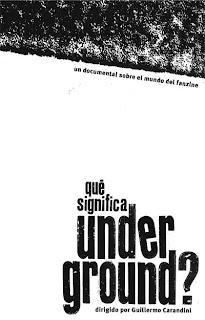 Qué significa underground