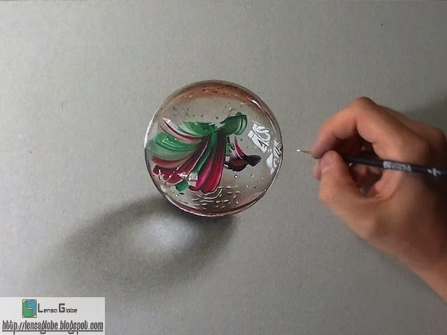 lukisan pensil 3D terkeren