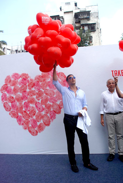 Akshay @ 'Happy Heart Carnival 2012'