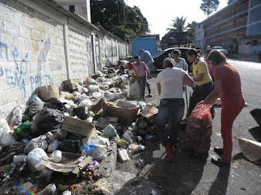 Vecinos de Santa Mónica piden al alcalde de Libertador solución inmediata al problema de la basura