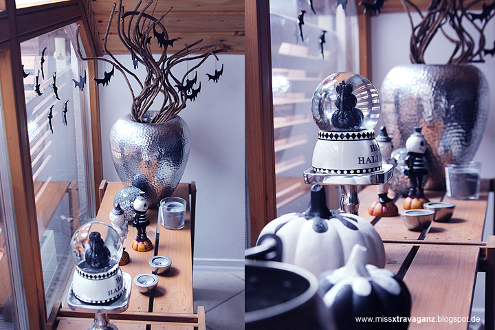interior diy halloween deko bat tree miss von. Black Bedroom Furniture Sets. Home Design Ideas