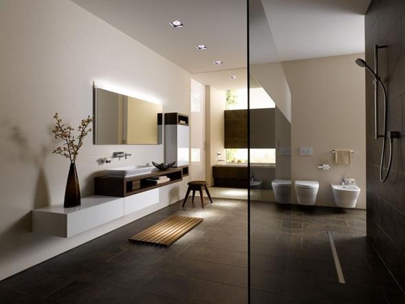 Accesorios De Baño Toto:de gran estética con sus formas simples para la creación de