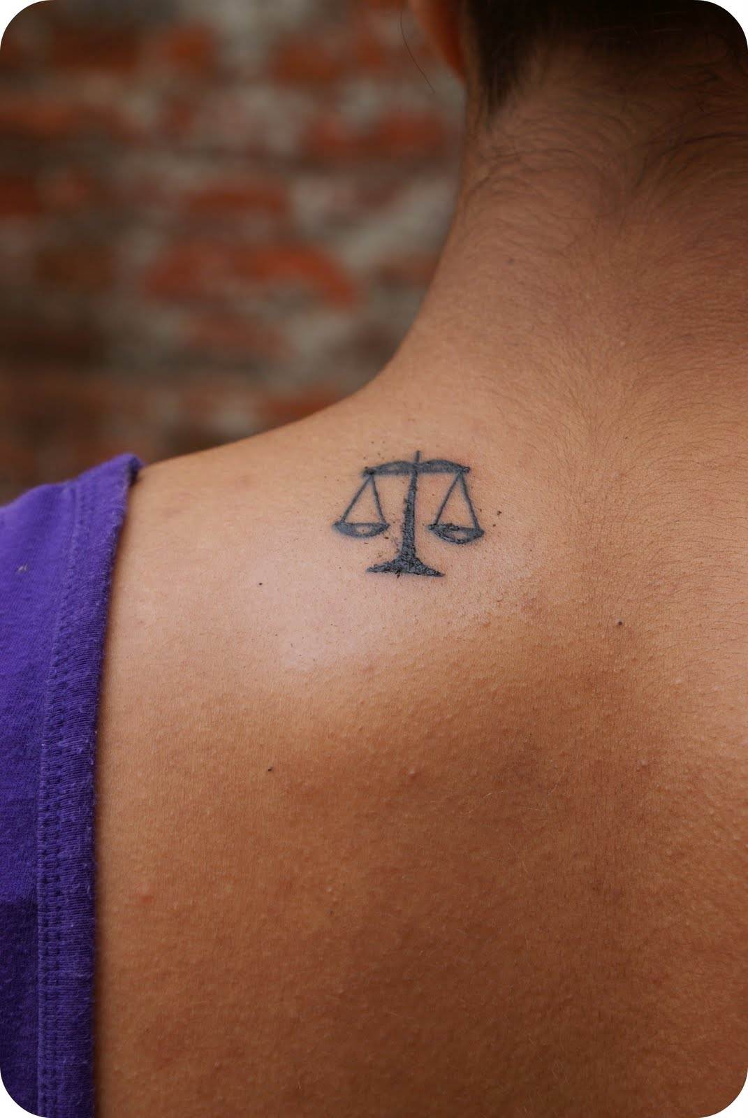scales of justice libra tattoos