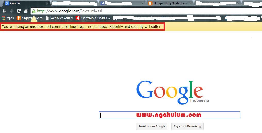 Cara Mengatasi Google Chrome Tidak Bisa Browsing