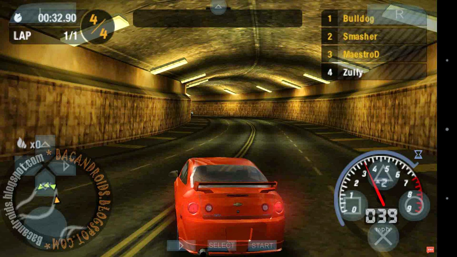 PSP Game Android need For Speed Iso