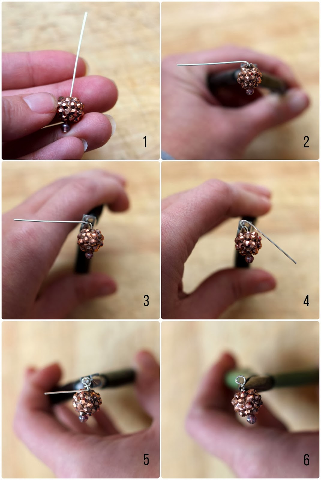 wire heapin loop beading tutorial