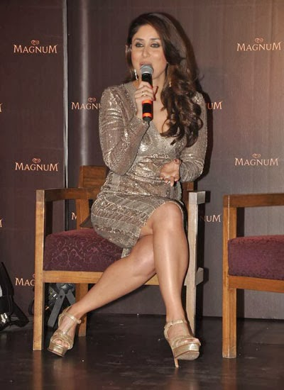 Kareena graces the launch of Magnum chocolate ice cream