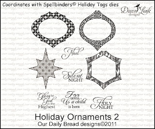 Our Daily Bread Designs - Stamps Holiday Ornaments 2