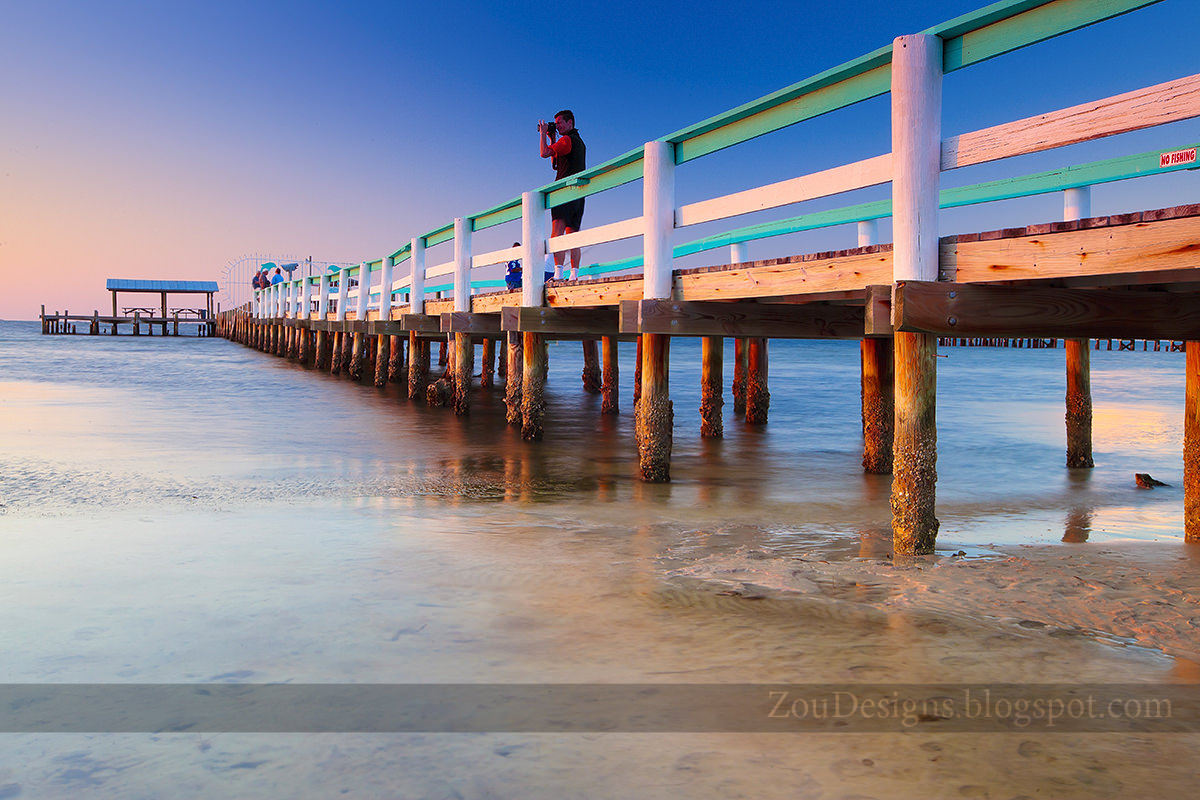 Sunset at bokeelia with great visibility visual creativity for Bokeelia fishing pier